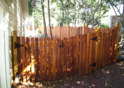 Sealed Cedar Pickets - Clear